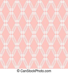 Seamless Abstract Vector Pattern - Geometric fine abstract...