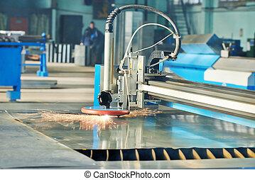 plasma laser cutting - metal working. plasma laser cutting...