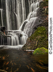 Waterfalls in the tropical forests