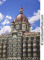 Mumbai, India - Taj Mahal Palace hotel in Mumbai, India