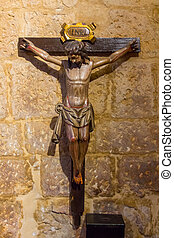 Christ crucified on the cross