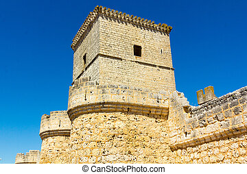 Portillo Castle in Valladolid Spain