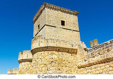 Portillo Castle in Valladolid Spain