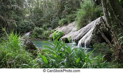 Soroa waterfall, Pinar del Rio, CubaLandscape in a sunny day...