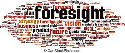 Foresight-horizon Convertedeps - Foresight word cloud...