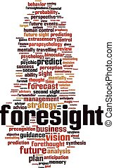 Foresight-vertical Convertedeps - Foresight word cloud...