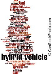 Hybrid vehicle-vertical Convertedeps - Hybrid vehicle word...