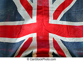 Grunge Union Jack