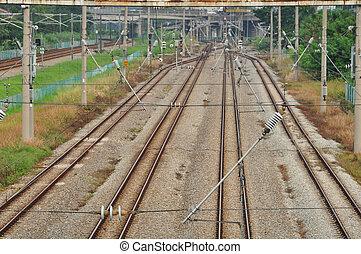 ferrocarril, estación