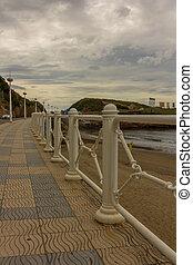 Promenade in Asturias Spain