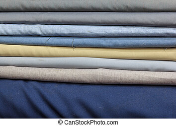 Colorful of fabric