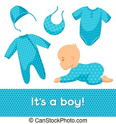 It is a boy Baby shower invitation