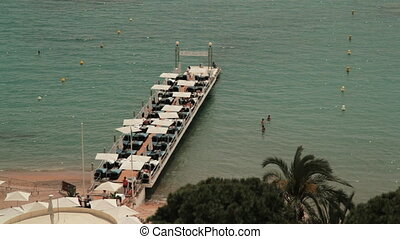 Private harbor in Cannes beach - Private little harbor in...