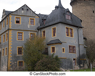 Weimar, Germany - The Schloss Weimar in Germany