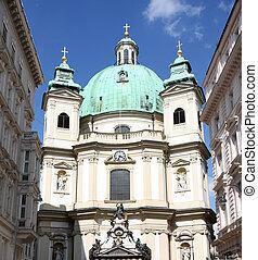 St. Peter's Church in Vienna, Austria