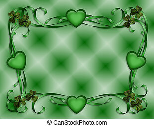St Patricks Day Border