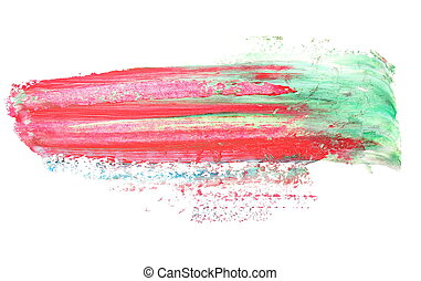 red green grunge brush strokes - photo red green grunge...