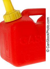 gas, lata, primer plano