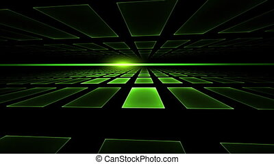 Green Cubic Horizon - Green geometrical perspective...
