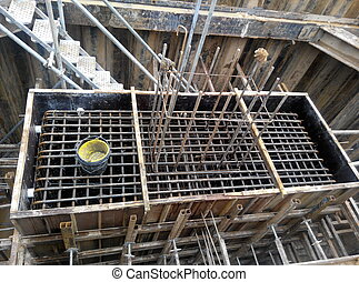 Pile cap reinforcement bar