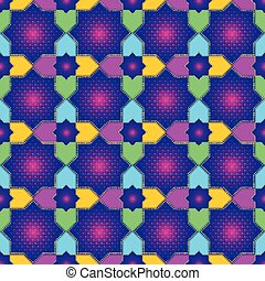 Islamic Star Seamless Pattern