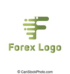 Abstract for forex f letter companies trending flat style