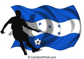 jugador, futbol,  honduras