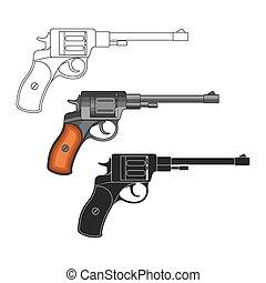 Set of revolvers
