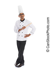 indian male chef