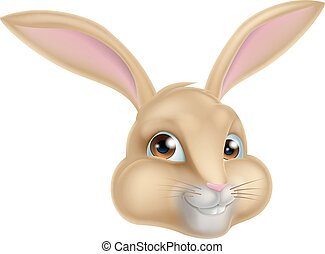 Cute Cartoon Bunny Rabbit