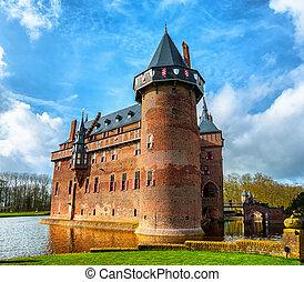 Castle De Haar in Utrecht - Castle De Haar is located in the...