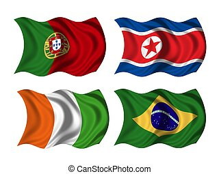 soccer team flags group G