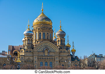 Church of the Dormition in Saint Petersburg, Russia