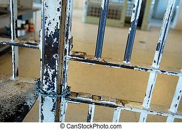 Alcatraz - Bars in Alcatraz