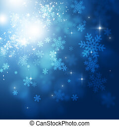 Winter Snow Holiday Background