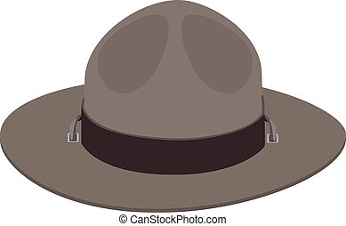 Camp scout hat