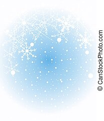 winter snowflake - a vector illustration in eps 10 format of...