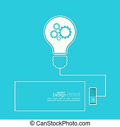 Bulb light idea with switch. - Bulb light idea with switch...