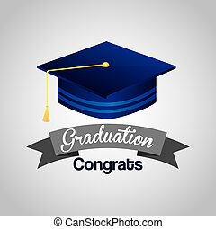 graduation concept design, vector illustration eps10 graphic...