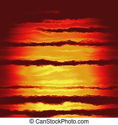 red fire sun dawn pattern texture background
