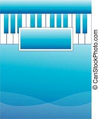 Piano Lesson Brochure Background