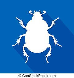 beetle icon - Creative design of beetle icon