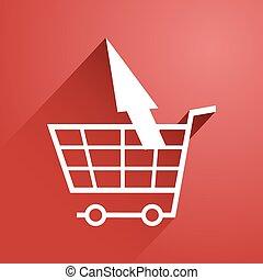 elegant refund market symbol - Creative design of elegant...