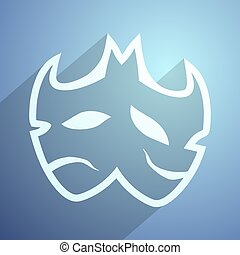 imaginative carnival mask - Creative design of imaginative...