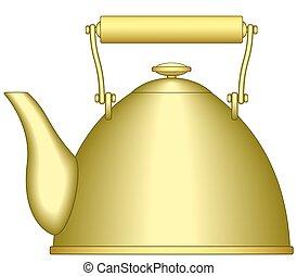 Teapot - Illustration of the teapot icon