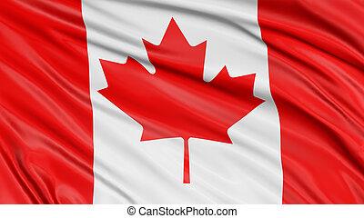 3D Canada Flag