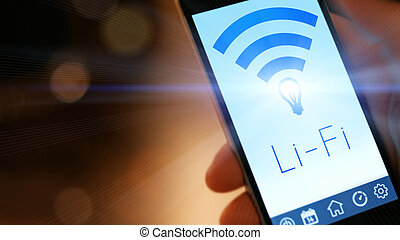 Li-Fi High Speed Wireless connection - Li-Fi W-Lan...