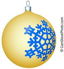 Cristmas ball - Illustration of the Christmas ball icon