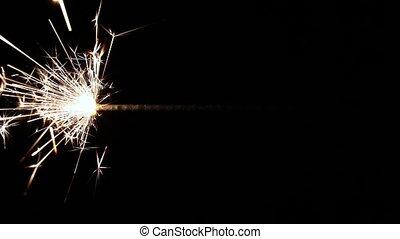 Lightening Christmas sparkler