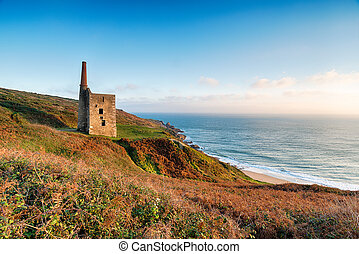 Wheal Prosper Cornish Engine House - The Wheal Prosper...